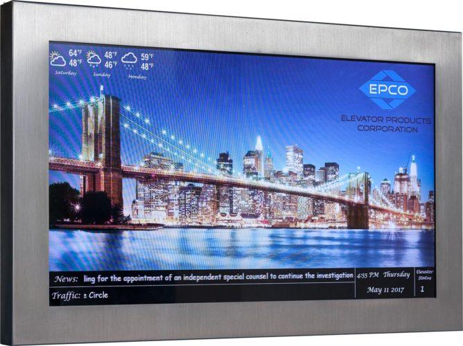 Video Display Lobby Fixture